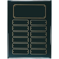 BPP12 Black Piano Finish Perpetual Plaque